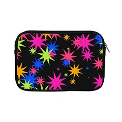 Colorful Stars Pattern Apple Ipad Mini Zipper Case by LalyLauraFLM