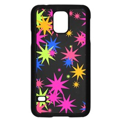 Colorful Stars Pattern	samsung Galaxy S5 Case by LalyLauraFLM