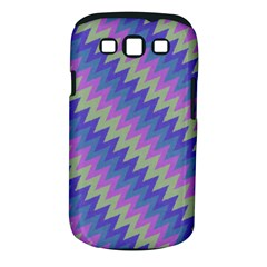 Diagonal Chevron Pattern Samsung Galaxy S Iii Classic Hardshell Case (pc+silicone) by LalyLauraFLM