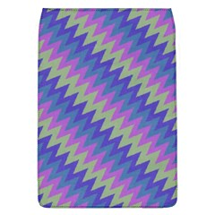 Diagonal Chevron Pattern Removable Flap Cover (l) by LalyLauraFLM