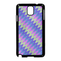 Diagonal Chevron Pattern Samsung Galaxy Note 3 Neo Hardshell Case by LalyLauraFLM
