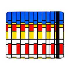 Colorful Rectangles Pattern	samsung Galaxy Tab Pro 8 4  Flip Case by LalyLauraFLM