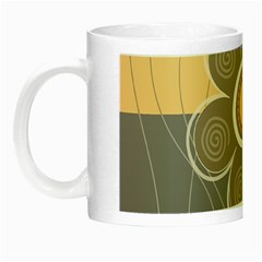 Floral Design Glow In The Dark Mug by EveStock