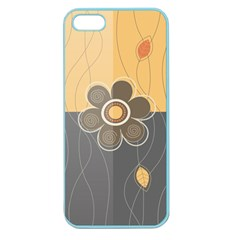 Floral Design Apple Seamless Iphone 5 Case (color) by EveStock