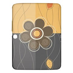 Floral Design Samsung Galaxy Tab 3 (10 1 ) P5200 Hardshell Case  by EveStock