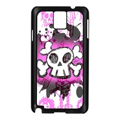 Cartoon Skull  Samsung Galaxy Note 3 N9005 Case (black) by ArtistRoseanneJones