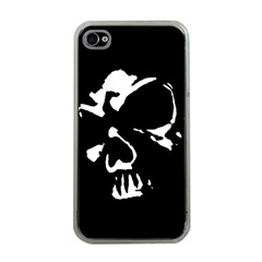 Gothic Skull Apple Iphone 4 Case (clear)