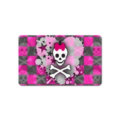 Princess Skull Heart Magnet (name Card)