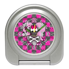Princess Skull Heart Desk Alarm Clock