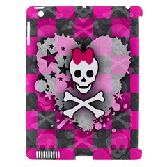Princess Skull Heart Apple Ipad 3/4 Hardshell Case (compatible With Smart Cover)