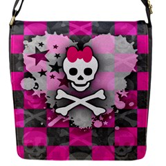Princess Skull Heart Removable Flap Cover (s) by ArtistRoseanneJones