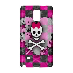 Princess Skull Heart Samsung Galaxy Note 4 Hardshell Case