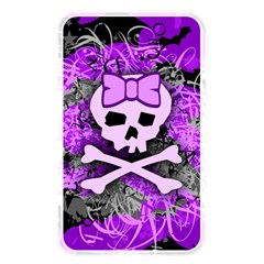 Purple Girly Skull Memory Card Reader (rectangular)