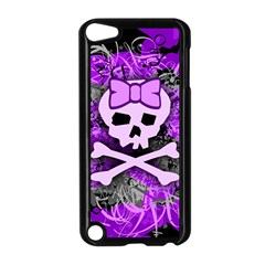 Purple Girly Skull Apple Ipod Touch 5 Case (black)