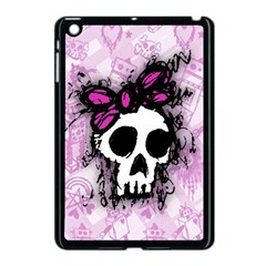 Sketched Skull Princess Apple Ipad Mini Case (black) by ArtistRoseanneJones