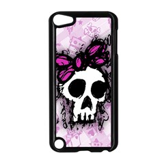 Sketched Skull Princess Apple iPod Touch 5 Case (Black)