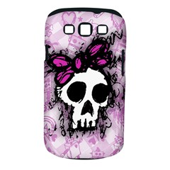 Sketched Skull Princess Samsung Galaxy S III Classic Hardshell Case (PC+Silicone)