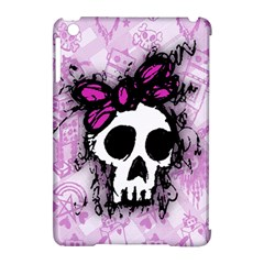 Sketched Skull Princess Apple iPad Mini Hardshell Case (Compatible with Smart Cover)