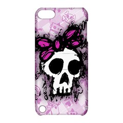 Sketched Skull Princess Apple Ipod Touch 5 Hardshell Case With Stand