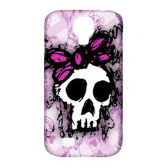 Sketched Skull Princess Samsung Galaxy S4 Classic Hardshell Case (PC+Silicone)