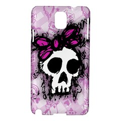 Sketched Skull Princess Samsung Galaxy Note 3 N9005 Hardshell Case