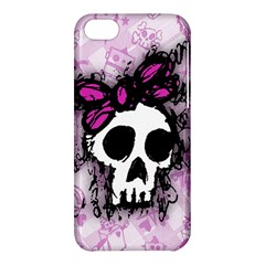 Sketched Skull Princess Apple Iphone 5c Hardshell Case by ArtistRoseanneJones