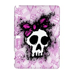 Sketched Skull Princess Samsung Galaxy Note 10.1 (P600) Hardshell Case