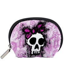 Sketched Skull Princess Accessory Pouch (small)