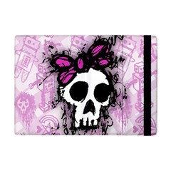Sketched Skull Princess Apple Ipad Mini 2 Flip Case