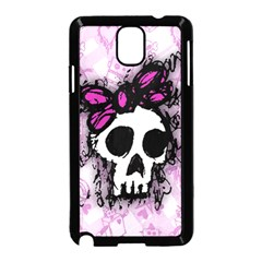 Sketched Skull Princess Samsung Galaxy Note 3 Neo Hardshell Case (Black)