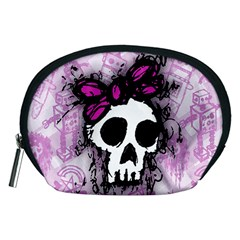Sketched Skull Princess Accessory Pouch (Medium)