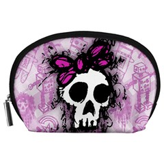 Sketched Skull Princess Accessory Pouch (Large)
