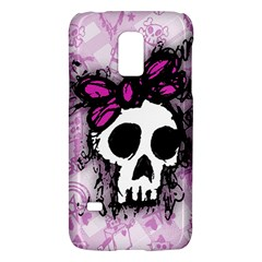 Sketched Skull Princess Samsung Galaxy S5 Mini Hardshell Case