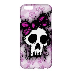 Sketched Skull Princess Apple iPhone 6 Plus Hardshell Case