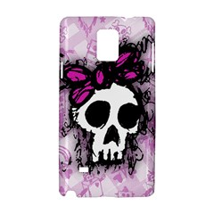 Sketched Skull Princess Samsung Galaxy Note 4 Hardshell Case
