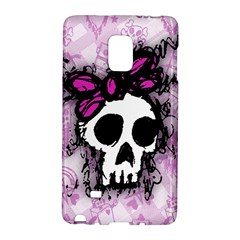 Sketched Skull Princess Samsung Galaxy Note Edge Hardshell Case