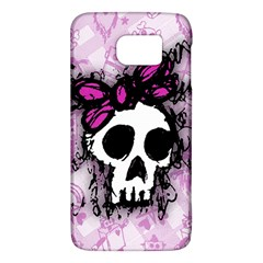 Sketched Skull Princess Samsung Galaxy S6 Hardshell Case