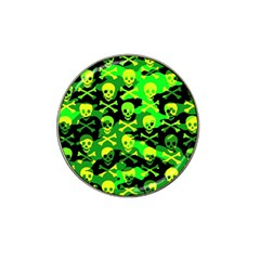 Skull Camouflage Golf Ball Marker 4 Pack (for Hat Clip) by ArtistRoseanneJones