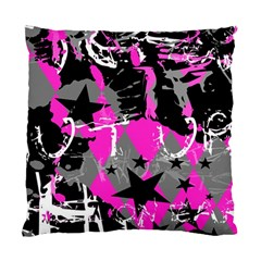 Pink Scene Kid Cushion Case (two Sided)  by ArtistRoseanneJones