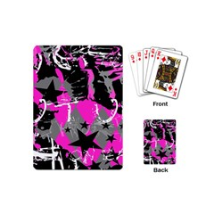 Pink Scene Kid Playing Cards (mini) by ArtistRoseanneJones