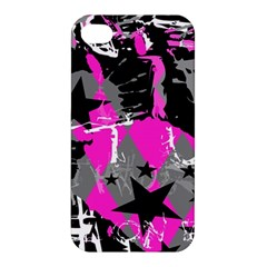 Pink Scene Kid Apple Iphone 4/4s Premium Hardshell Case by ArtistRoseanneJones