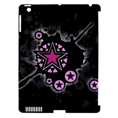 Pink Star Explosion Apple Ipad 3/4 Hardshell Case (compatible With Smart Cover) by ArtistRoseanneJones