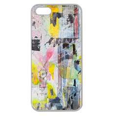 Graffiti Graphic Apple Seamless Iphone 5 Case (clear)