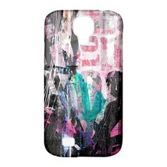 Graffiti Grunge Love Samsung Galaxy S4 Classic Hardshell Case (pc+silicone) by ArtistRoseanneJones