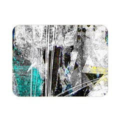 Urban Funk Double Sided Flano Blanket (mini) by ArtistRoseanneJones