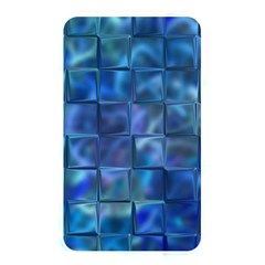 Blue Squares Tiles Memory Card Reader (rectangular) by KirstenStar