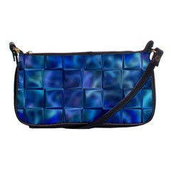 Blue Squares Tiles Evening Bag by KirstenStar