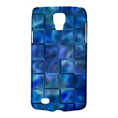 Blue Squares Tiles Samsung Galaxy S4 Active (i9295) Hardshell Case by KirstenStar