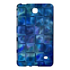 Blue Squares Tiles Samsung Galaxy Tab 4 (7 ) Hardshell Case  by KirstenStar