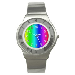 Crayon Box Stainless Steel Watch (slim) by Artists4God